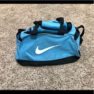NWOT Blue Nike Sports Duffle Bag